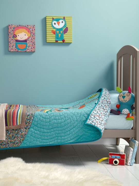 Timbuktales - Boys Cotbed Coverlet image number 8