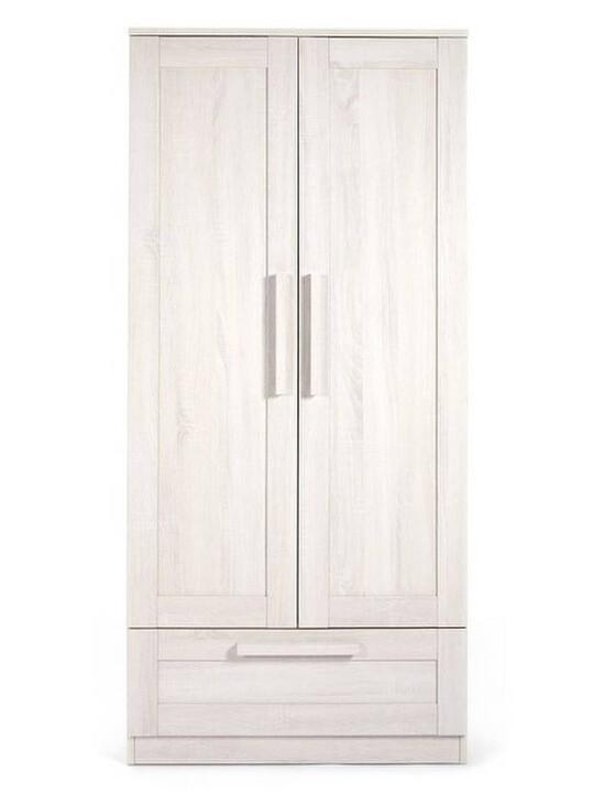Atlas Wardrobe - Nimbus White image number 3