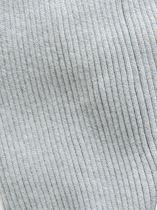 Silver Metallic Rib Legging image number 3