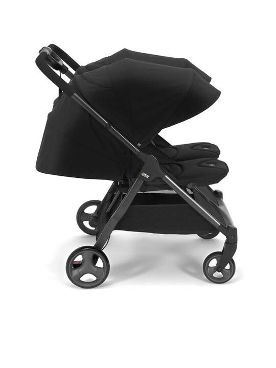 Armadillo Twin Folding Pushchair - Black Jack image number 3