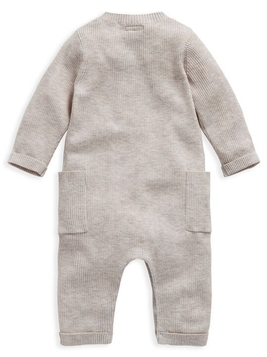 Knitted Rib Romper image number 2