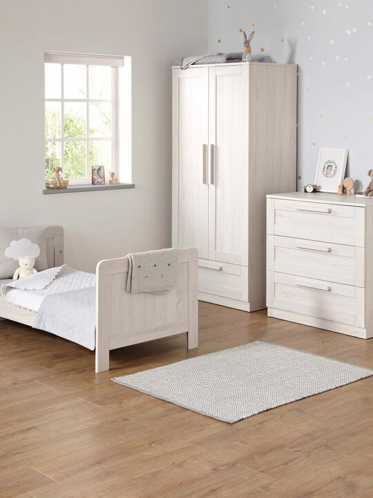 Atlas Cot/Toddler Bed - White image number 2