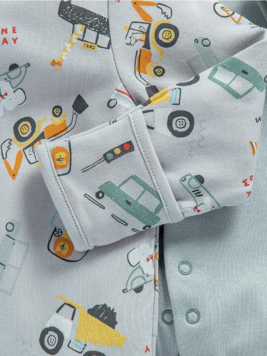 3 Pack Transport Sleepsuits image number 4