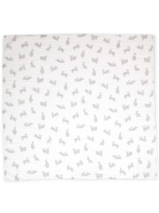 Large Muslin Squares (Pack of 3) - Welcome to the World - 90 x 90cm image number 3