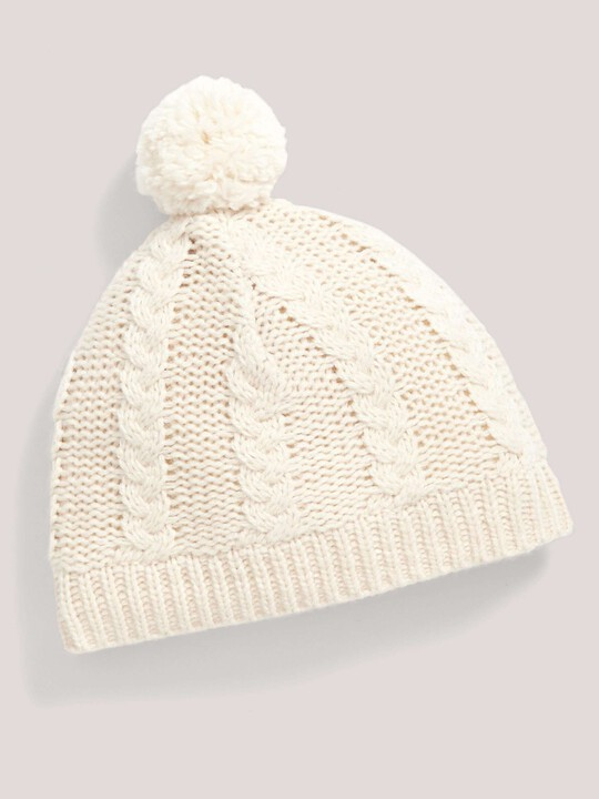 CABLE HAT/MITTS:No Color:18-2 image number 1