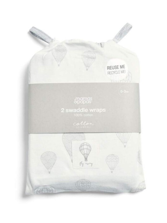 2 Pack Swaddle Wraps - Balloon image number 2