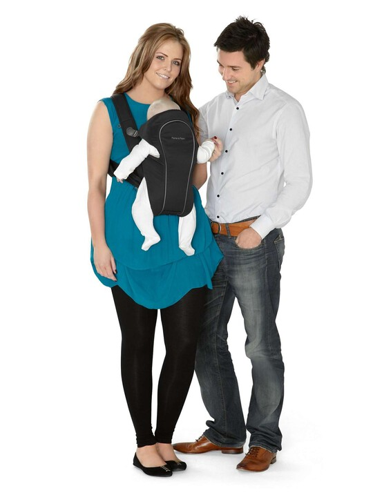 Classic Baby Carrier - Black image number 4