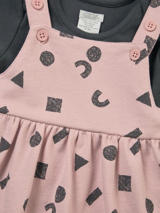 Pinny Dress & Bodysuit Set image number 2