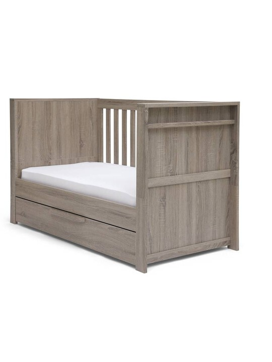 Franklin Convertible Cot & Toddler Bed 3 in 1 - Grey Wash image number 3