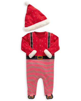 Santa All-In-One & Hat