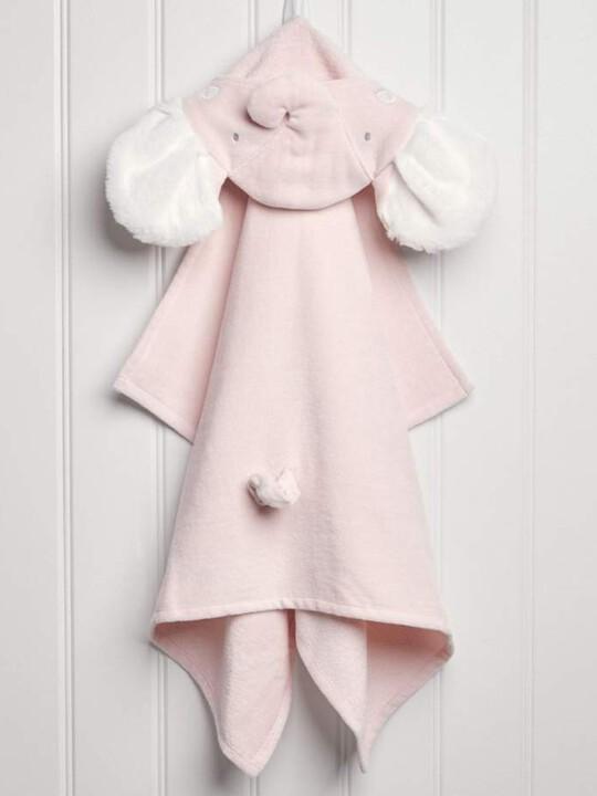 Hooded Towel - Elephant Pink image number 2