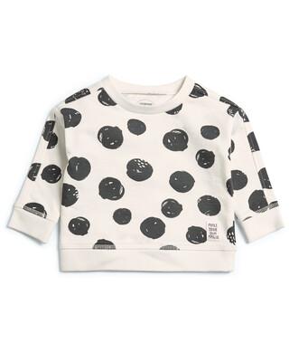 Monochrome Print Sweatshirt