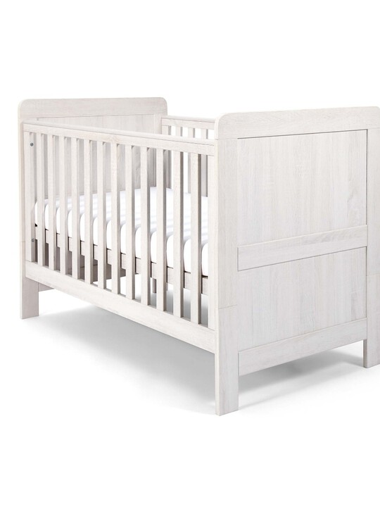 Atlas Cot/Toddler Bed - White image number 4
