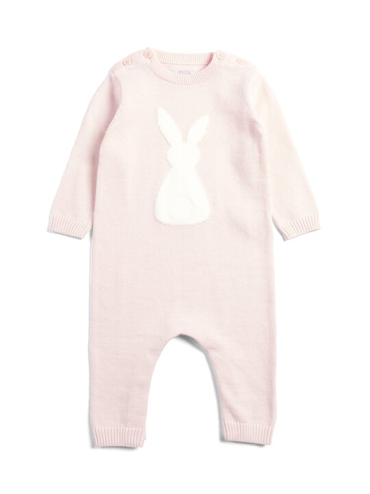 Knitted Bunny Romper image number 1