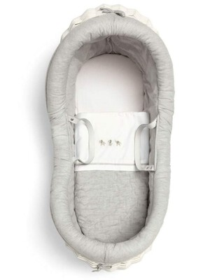 Welcome To The World Moses Basket - White