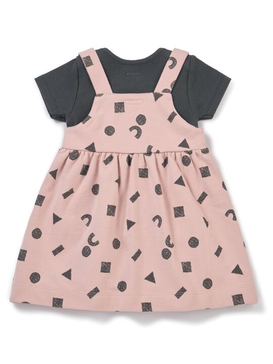 Pinny Dress & Bodysuit Set image number 5