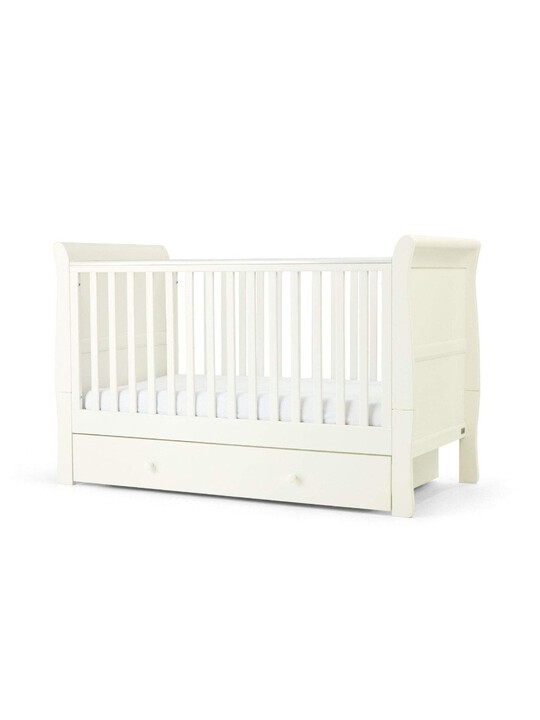 Mia Cot Sleigh - Pure White image number 1