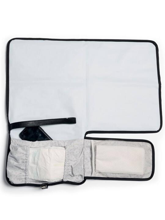 Clutch Bag - Black Quilted image number 2