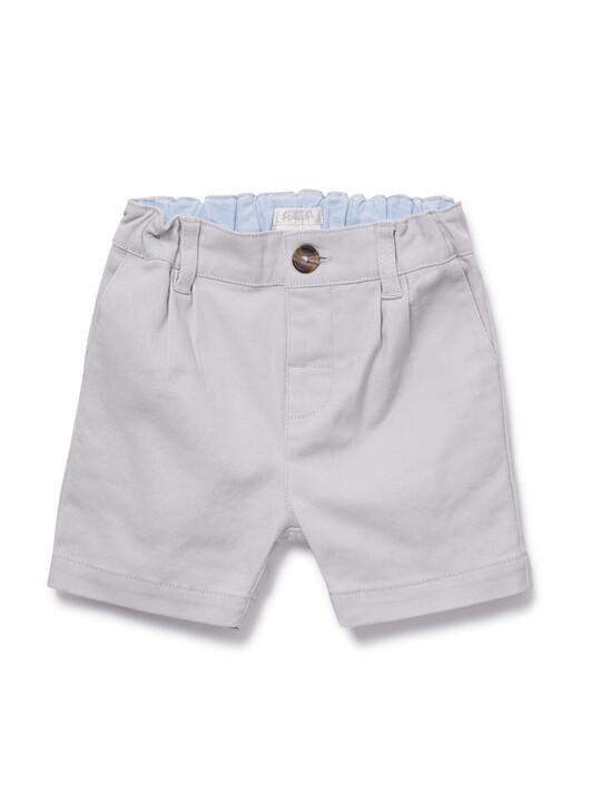 Grey Chino Shorts image number 1