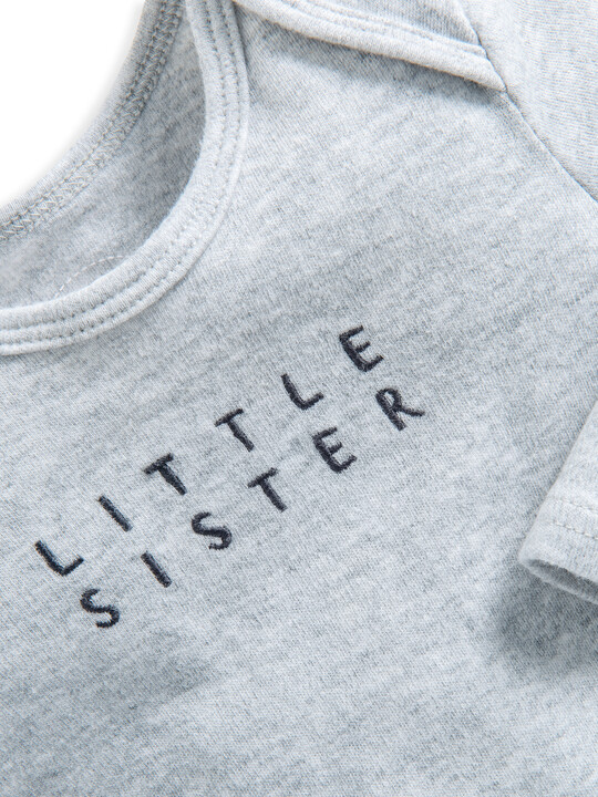 Little Sister Embroidered All-In-One image number 3