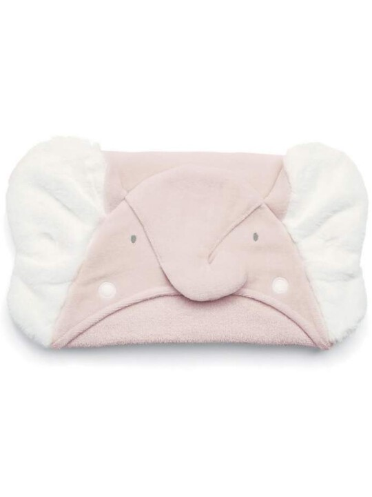 Hooded Towel - Elephant Pink image number 1
