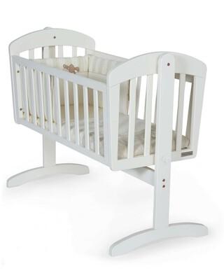 Breeze Crib - White