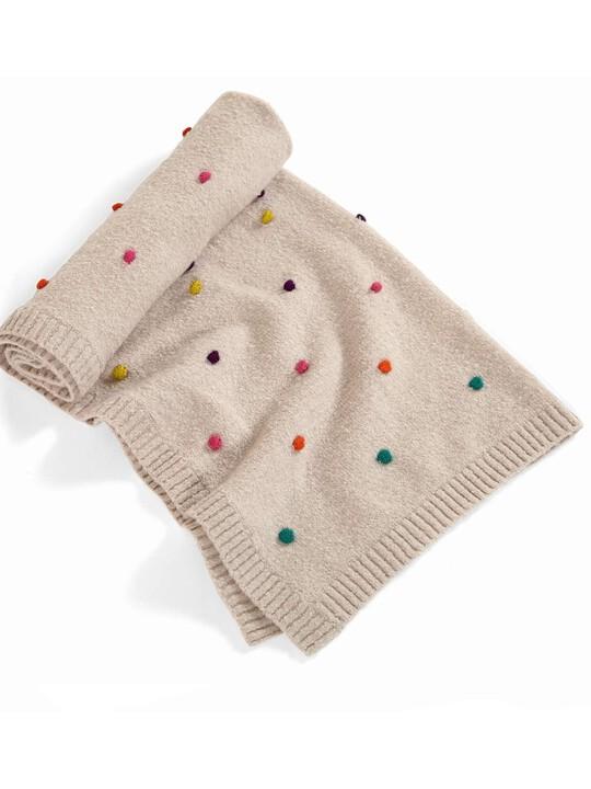Zam Bee Zee - Knitted Blanket - 70 x 90cm image number 3
