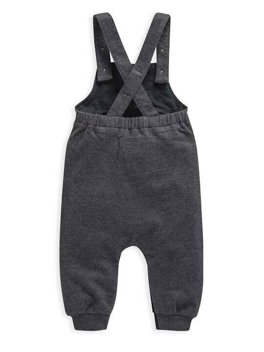 Charcoal Jersey  Dungaree image number 2