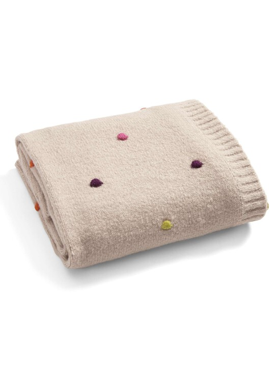 Zam Bee Zee - Knitted Blanket - 70 x 90cm image number 5
