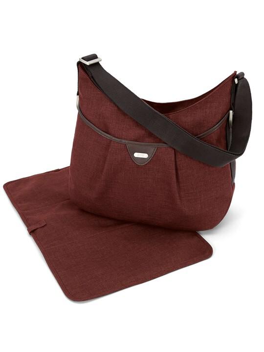Ellis Shoulder Bag Tweed - Rust image number 1