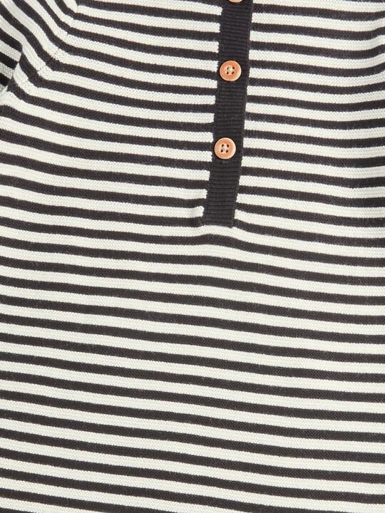 Knit Stripe Romper image number 3