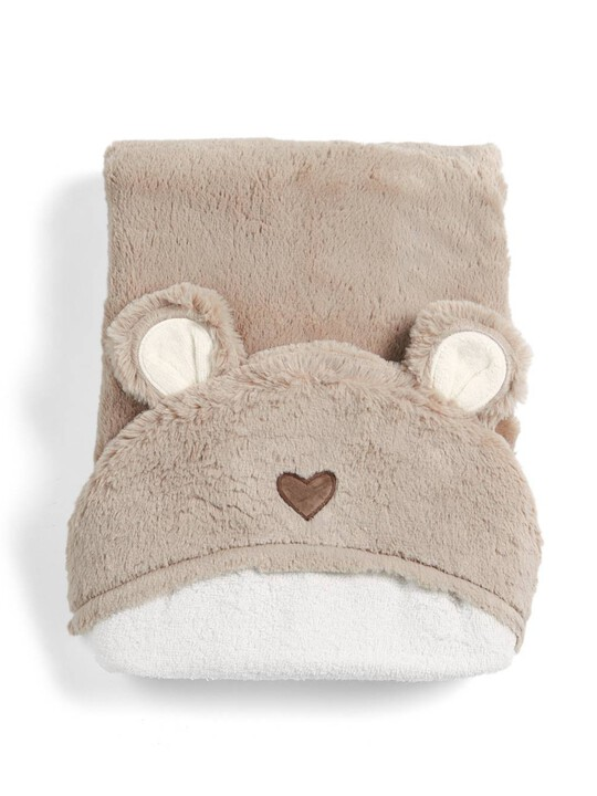 Hooded Bear Towel - Millie & Boris image number 1