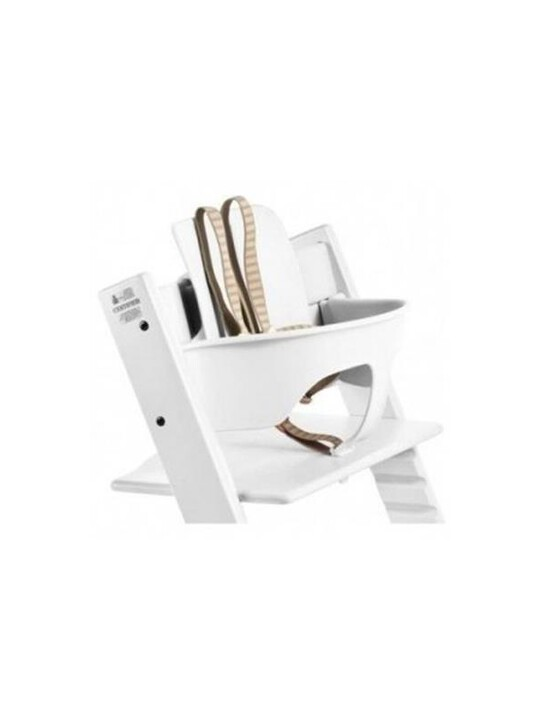 Stokke® Tripp Trapp Chair Baby Set - White image number 3