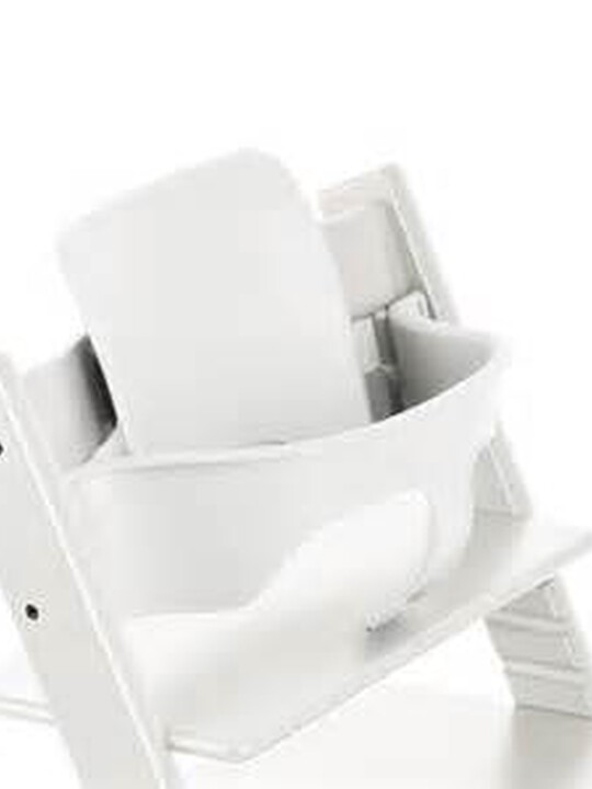 Stokke® Tripp Trapp Chair Baby Set - White image number 1