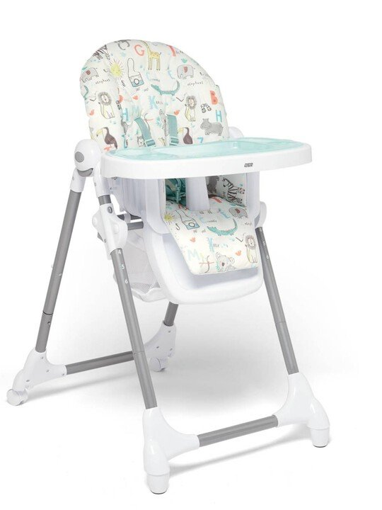 Snax Adjustable Highchair with Removable Tray Insert - Safari image number 1