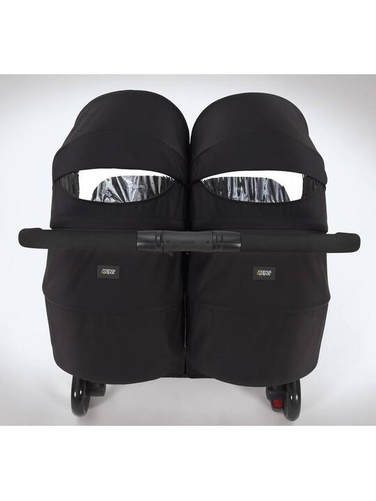 Armadillo Twin Folding Pushchair - Black Jack image number 5