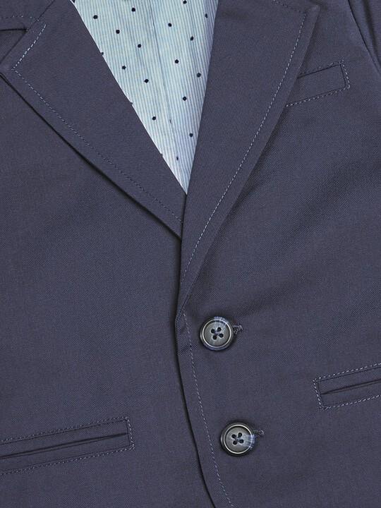 Woven Blazer Navy image number 3