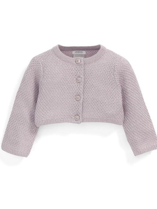 Sparkle Knit Cardigan image number 1
