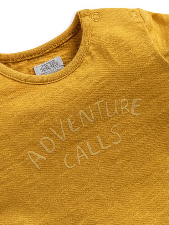 Short Sleeve 'Adventure Awaits' Jersey T-Shirt image number 3