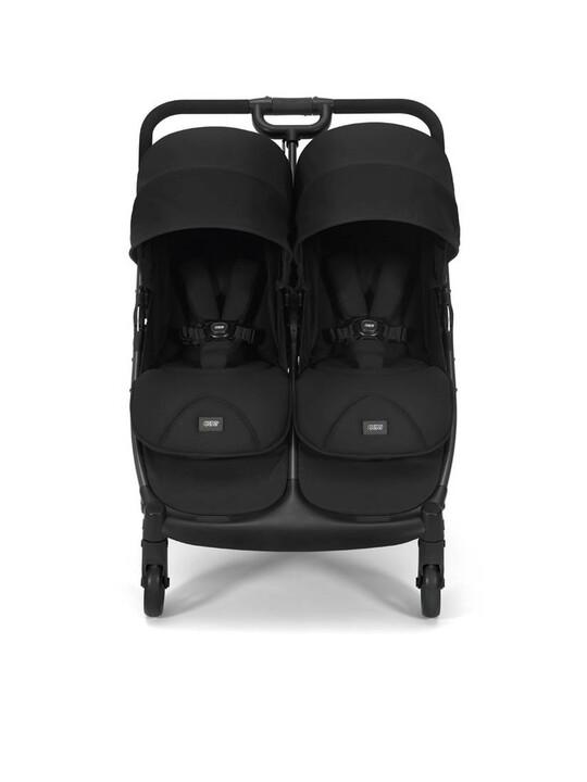 Armadillo Twin Folding Pushchair - Black Jack image number 2