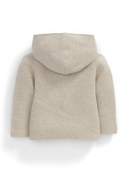 Sand Knitted Cardigan image number 2